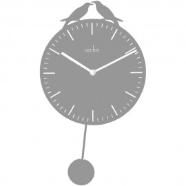 Uccello Wall Clock With Pendulum 43.5cm