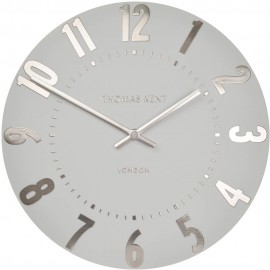Mulberry Silver Cloud Wall Clock 30cm