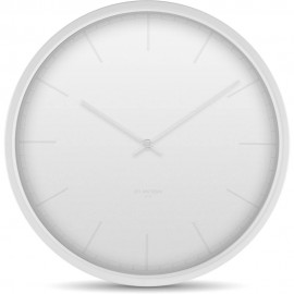 Tone White Wall Clock 35cm
