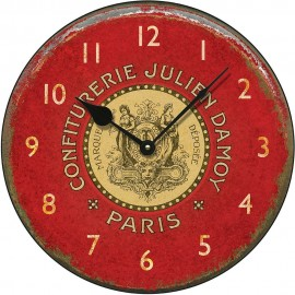 Confiturerie Julien Wall Clock 36cm