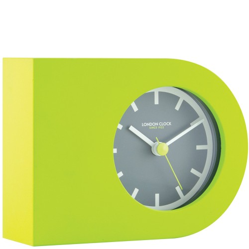 Tangent Green Mantel Clock 14cm