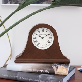 Napoleon Wooden Mantel Clock