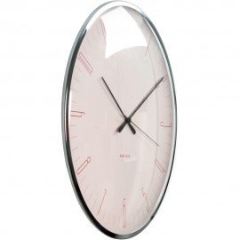 Dragonfly Pink Wall Clock 40cm
