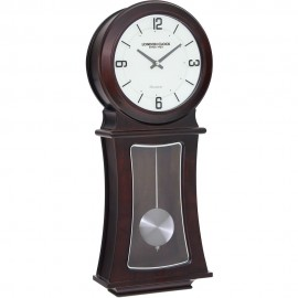 Dark Wood Pendulum Clock 56cm