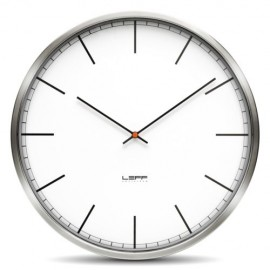 White Index Wall Clock 45cm