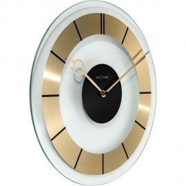 Retro Gold Wall Clock 31cm