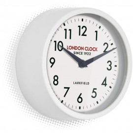 Horwich White Wall Clock 18cm