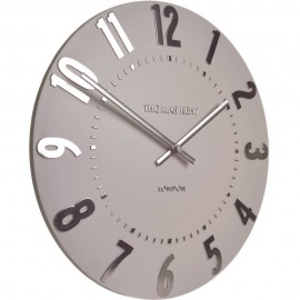 Mulberry Blush Pink Wall Clock 30cm