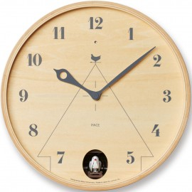 Pace Mini Natural Wall Clock 25.5cm