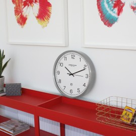 Turbo Wall Clock White 42cm