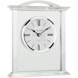 Glass Mantel Clock 18cm