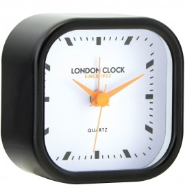 Bang Black Glossy Alarm Clock 7cm