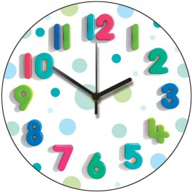 Spotty One Wall Clock 28.5cm