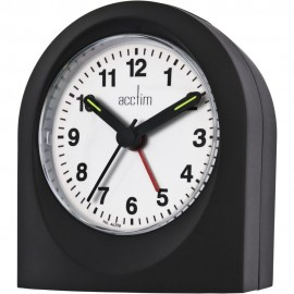 Palma Black Alarm Clock 9m