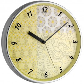 Green Deco Wall Clock 31.5cm