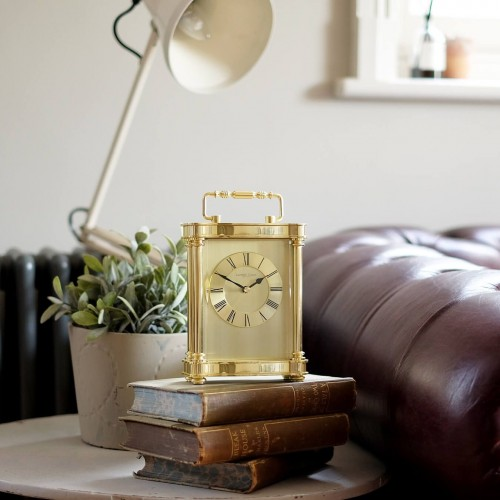 Gold Carriage Clock 19cm