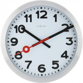 Numbers Wall Clock With Second Hand 19cm or 35cm