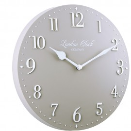 Amelia Wall Clock Grey 25cm