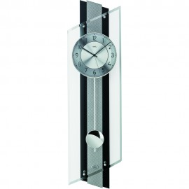 Glass Pendulum Clock 84cm
