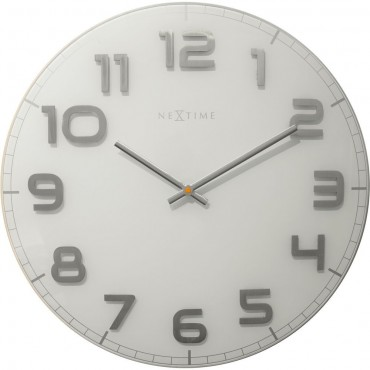 Classy Large White Wall Clock 50cm