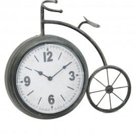 Mantel Clock Penny Farthing Style 38cm