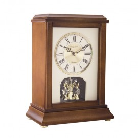 Flat Top Mantel Clock 33cm