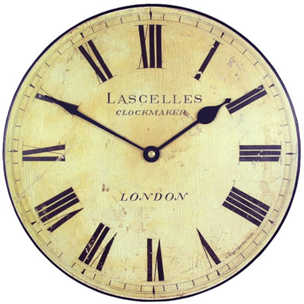 London Wall Clock 25 5cm
