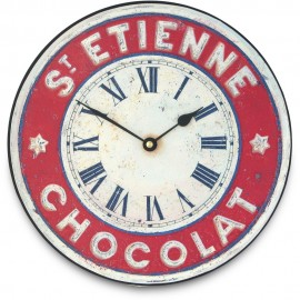 St.Etienne Chocolate Wall Clock 25.5cm
