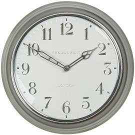 Campbell Platinum Wall Clock 30cm