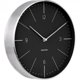 Normann Black Wall Clock 27.5cm