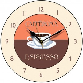 Perkins & Morely Espresso Wall Clock 28.5cm