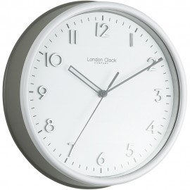Grey Kitchen Wall Clock 25.5cm
