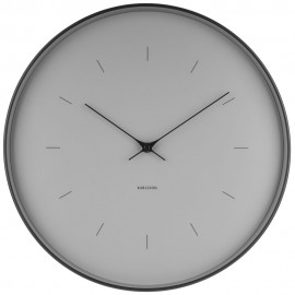 Butterfly Grey Wall Clock 37.5cm