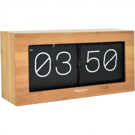 Stor Flip Wall Clock Wood 36.5cm
