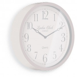 Alice Grey Wall Clock 30cm