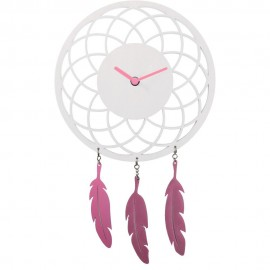 Dreamcatcher Wall Clock 24cm