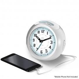 Minos USB Smart Connector Alarm Clock 11.5cm