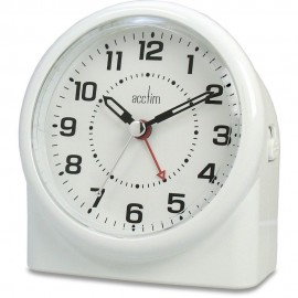 Central White Smartlite Alarm Clock 12cm