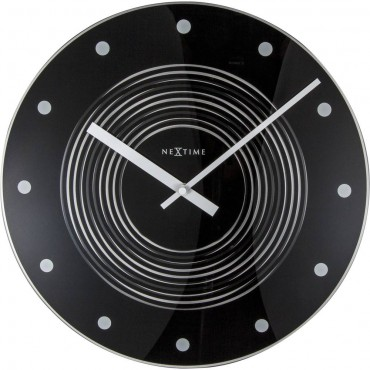Concentric Moving Wall Clock 35cm