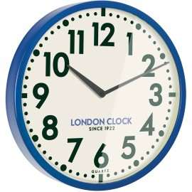 Tempest Wall Clock Blue 50cm