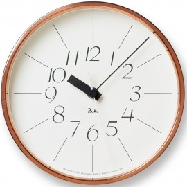 Copper Wall Clock 20.4cm