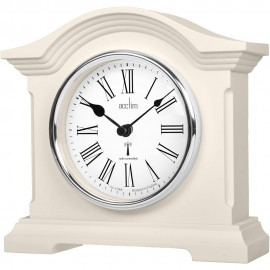 Chestfield Buttermilk Radio Controlled Mantel Clock 18cm