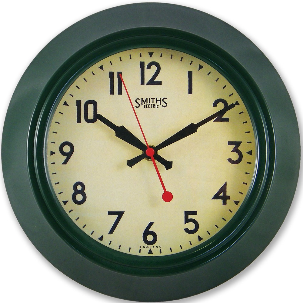 Smiths Sectric Wall Clock 25 5cm