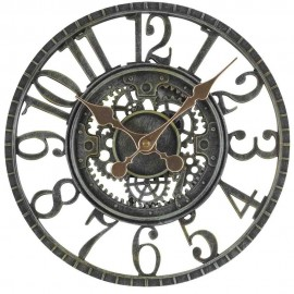 Newby Verdigris Mechanical Outdoor Wall Clock 30cm