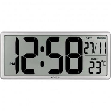 Date Keeper Digital Wall Clock 35cm