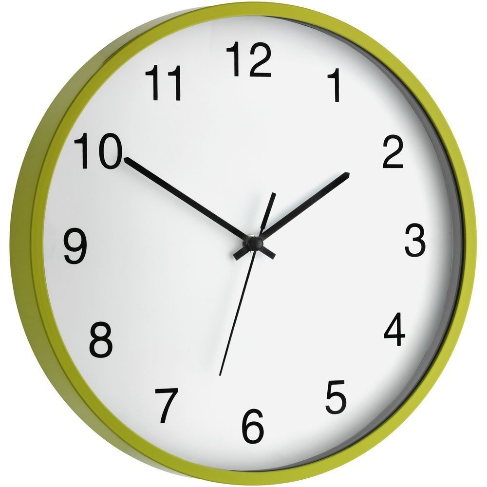 Lime Wall Clock 30cm