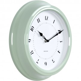Fifties Green Wall Clock 30cm