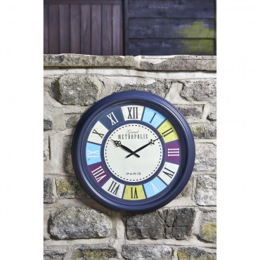 Grand Cafe Outdoor Wall Clock 51cm