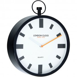 Spotlight Wall Clock Black 30cm