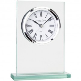 Flat Top Mantel Clock 14cm